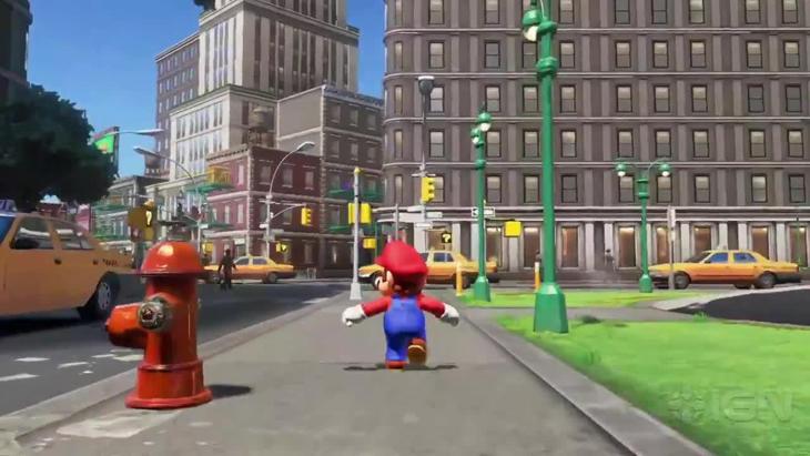 'Super Mario Odyssey' tendra escenarios basados en el mundo real