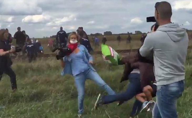 Imagen del vídeo que muestra los hechos