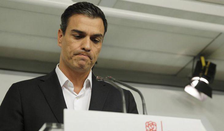 La dimisión de Pedro Sánchez dio comienzo al culebrón del PSOE