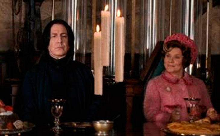 Snape y Dolores Umbridge