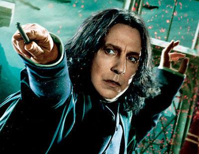 Así sería 'Harry Potter' contado desde la perspectiva de Severus Snape