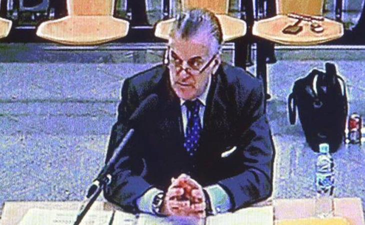 Bárcenas durante su declaración