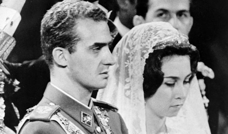 Boda entre Juan Carlos I y Doña Sofía