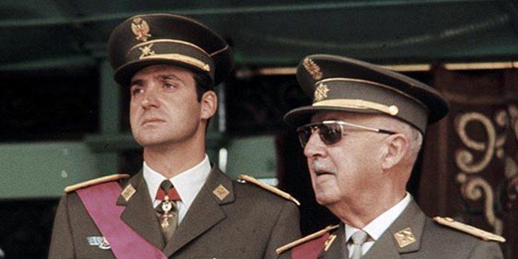 Juan Carlos, admirador del Generalísimo