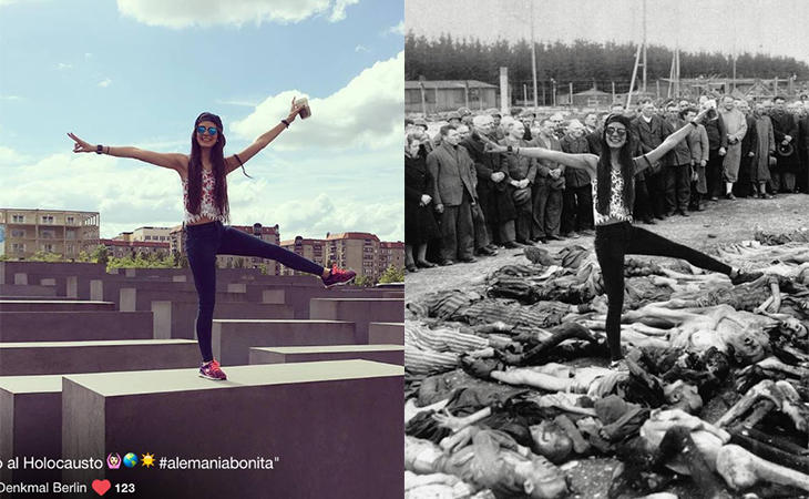 Las fotografías de Yolocaust muestran la realidad tras el memorial
