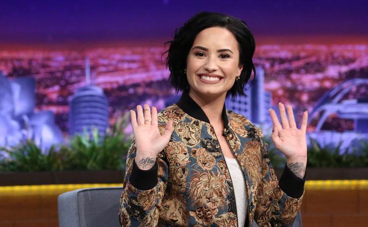 Demi Lovato ha rechazado públicamente a Trump por su abolición del Obamacare
