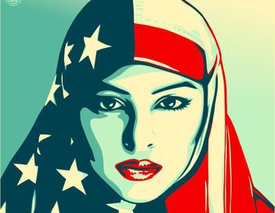 El artista del icónico HOPE de Obama crea tres espectaculares carteles contra Trump