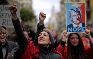 Medio millón de mujeres se alzaron contra Trump en la Women's March
