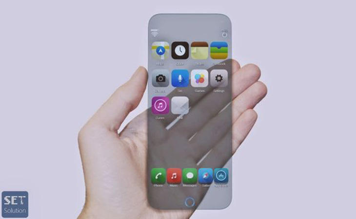 Posible prototipo del iPhone X