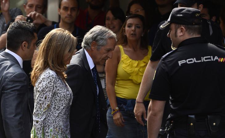 Rosalía Iglesias acudiendo a declarar en la Audiencia Nacional, en una fotografía de archivo
