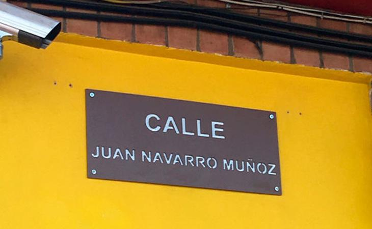 Calle de Juan Navarro Muñoz (El Diario)
