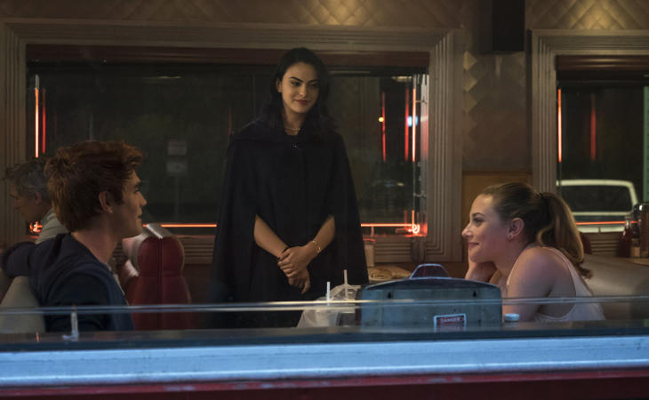 Los tres protagonistas de 'Riverdale', piezas clave del triángulo amoroso