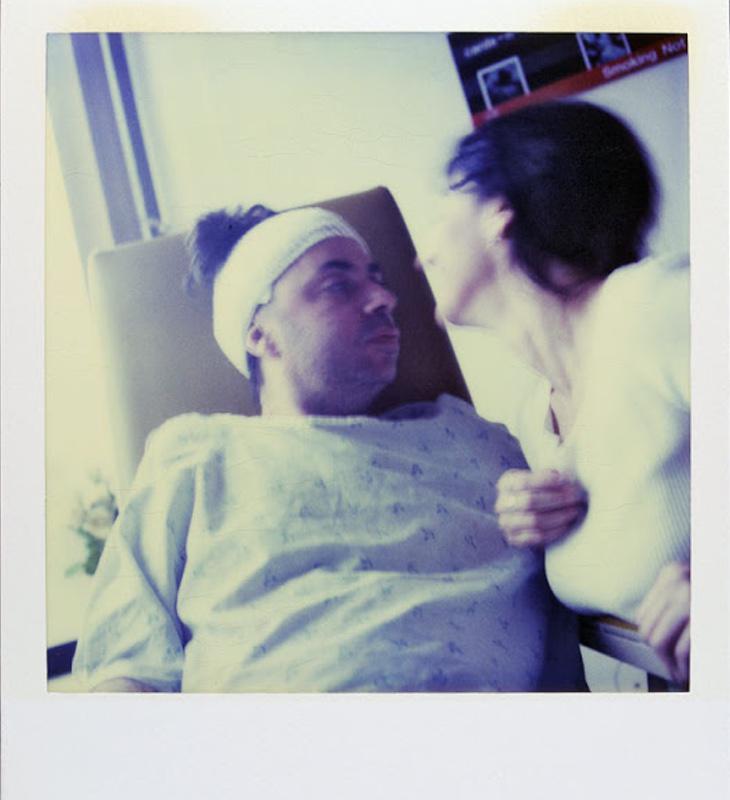 Durante su estancia en el hospital