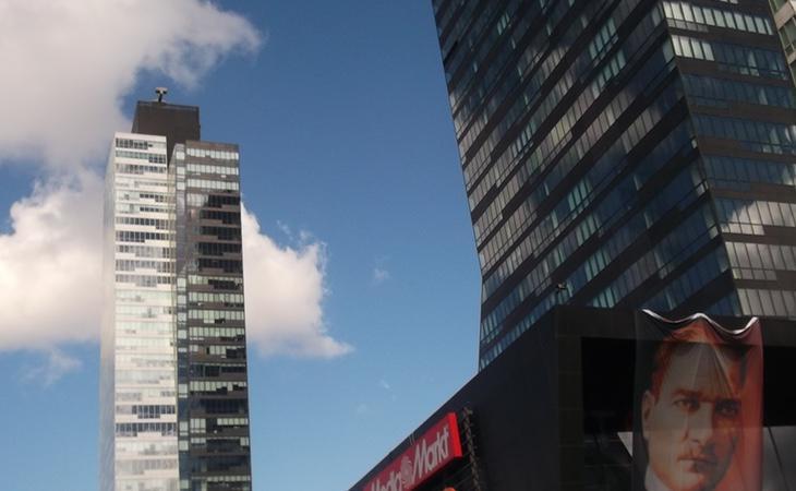 Estas torres en Estambul pertenecen a Donald Trump
