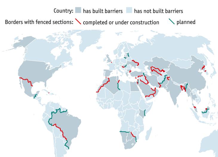 Muchas son las barreras en un mundo que grita contra Trump pero calla contra el resto