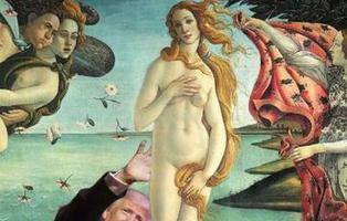 Ponen a Donald Trump en las obras de arte más famosas y el resultado es brutal