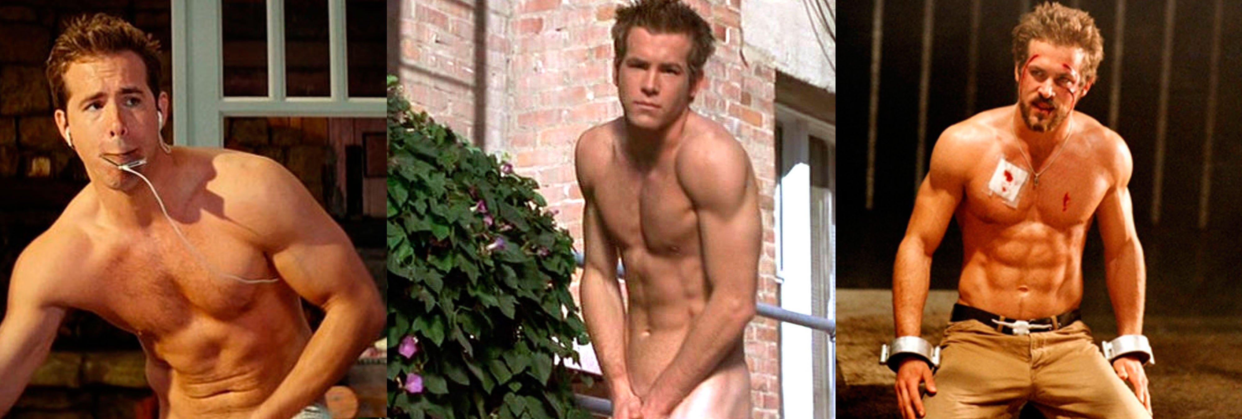 Los momentos más 'hot' de Ryan Reynolds en el cine