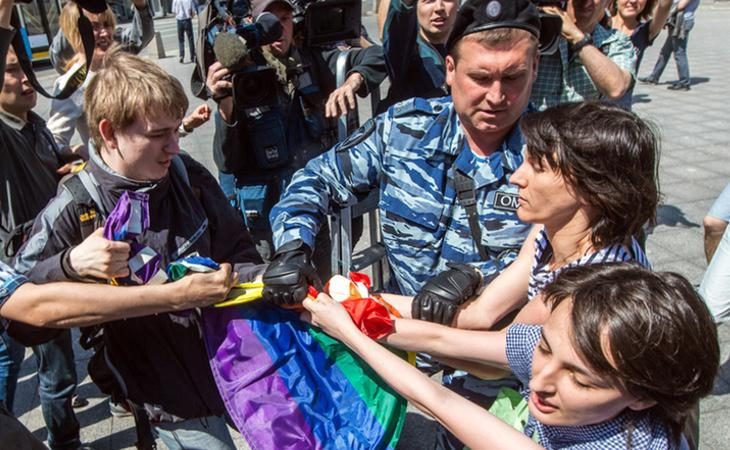 Las autoridades han prohibido cualquier tipo de acto a favor del colectivo LGTB