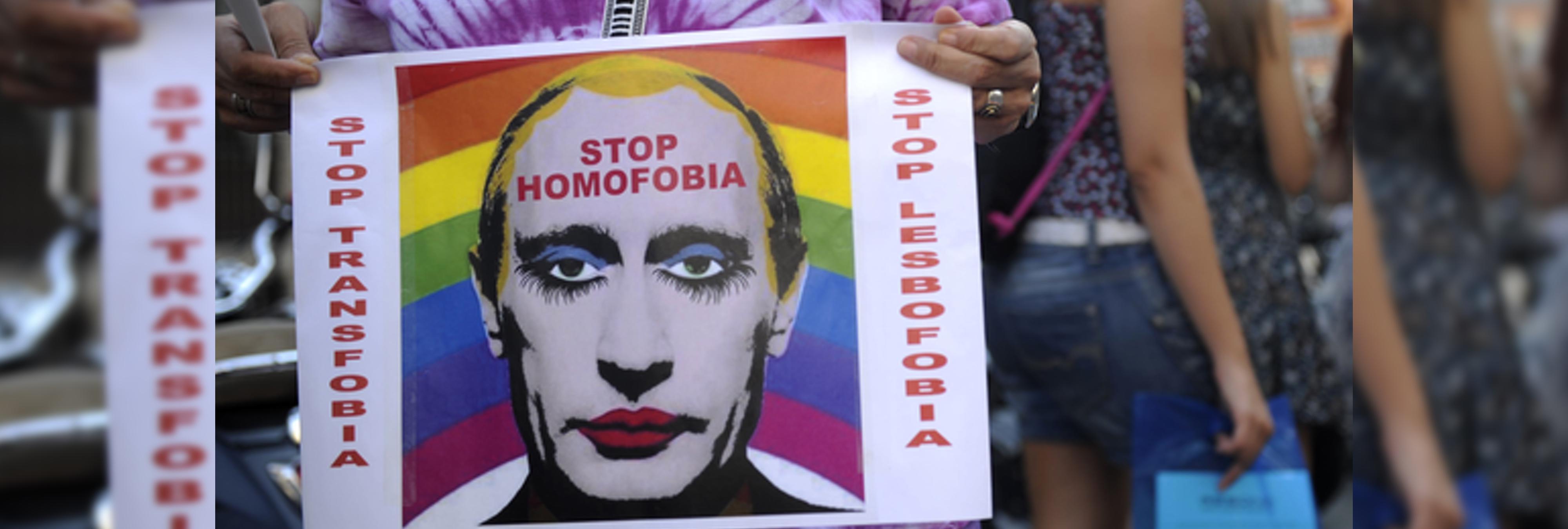 """Una web homófoba rusa """"alerta"""" sobre el número de gays que hay en cada ciudad"""