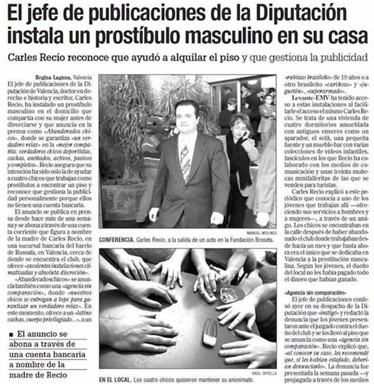 Carles Recio: un hombre emprendedor