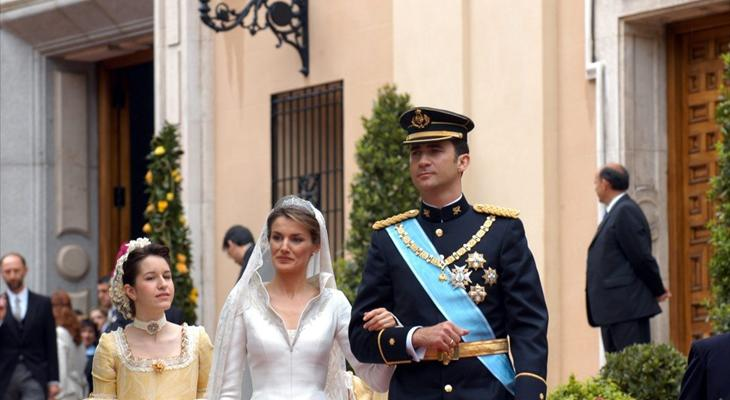 La boda de los actuales Reyes de España