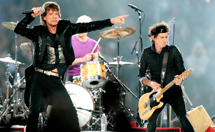 Los Rolling Stones en la 40ª edición del evento