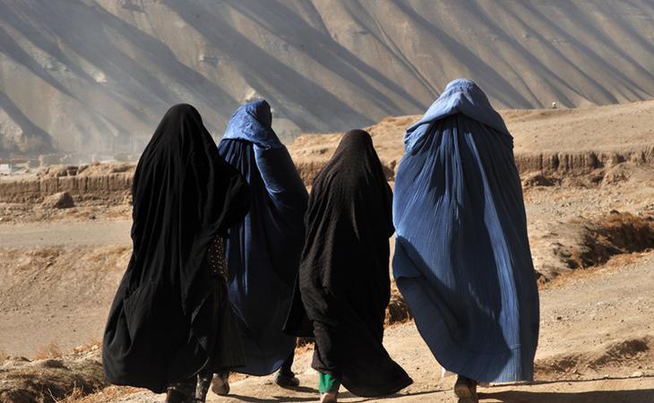 La ley sharia oprime a las mujeres afganas