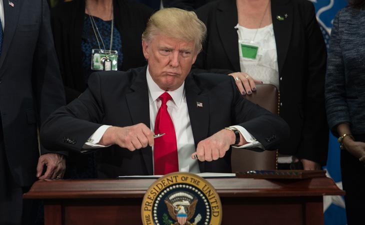Donald Trump ha vetado a todos los ciudadanos de siete países con mayoría musulmana