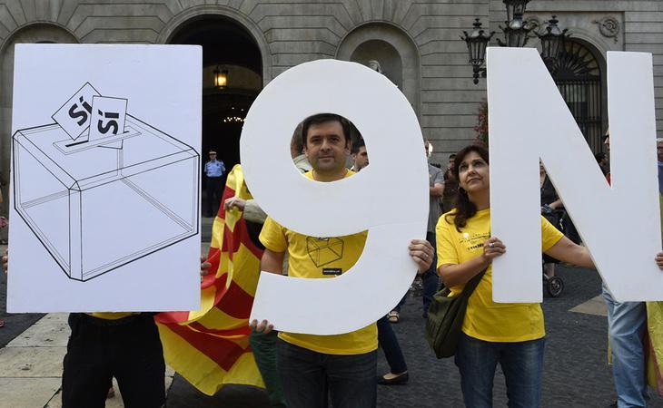 La celebración de la consulta del 9-N contó con la participación de 1,8 millones de personas