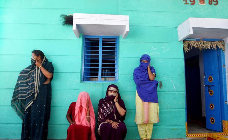 Las mujeres en la India se encuentran en una situación de vulnerabilidad