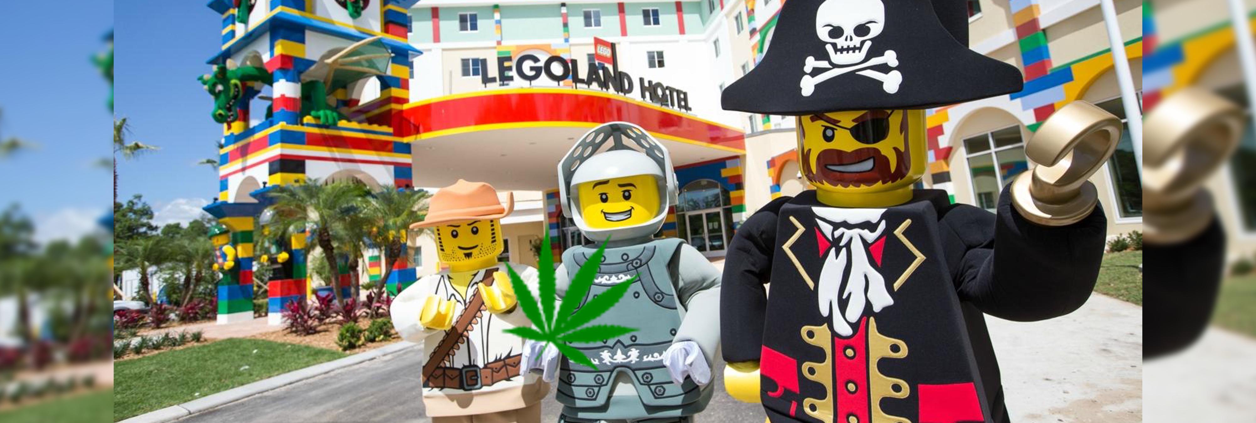 Esconden una granja de marihuana en un parque de atracciones de Lego