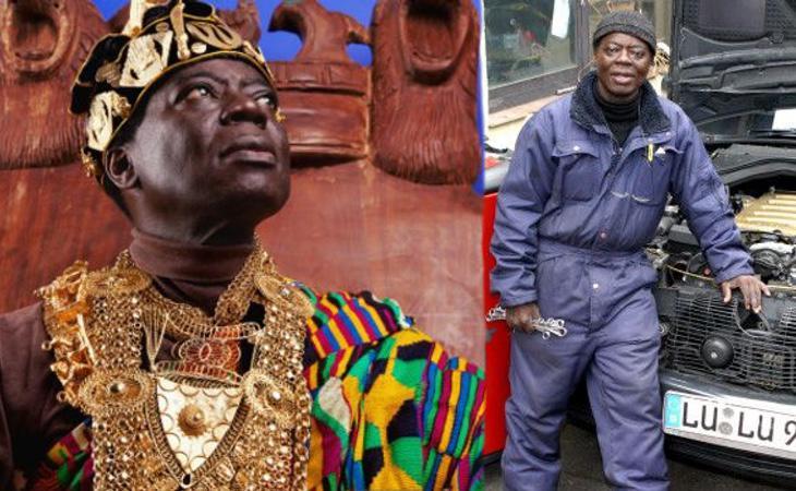 Togbe Cephas Bansah es todo un rey mileurista