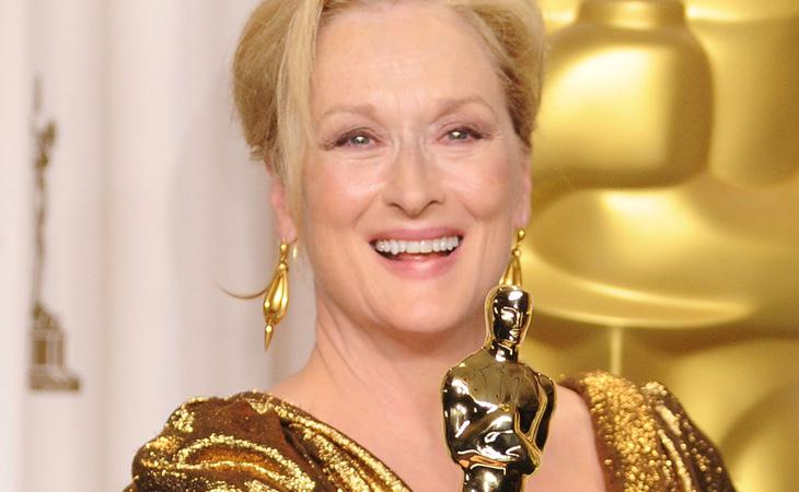 Meryl Streep recibió el Óscar por 'La dama de hierro'