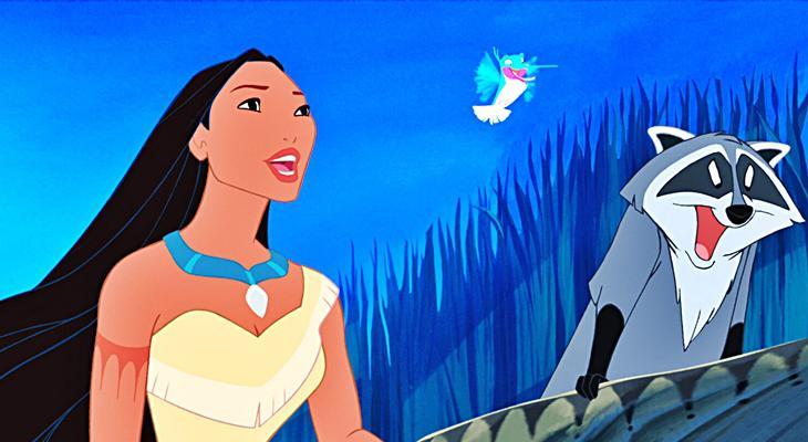 'Pocahontas' y sus amigos animales