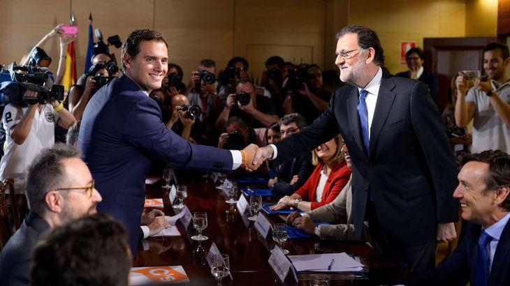 La relación del PP y Cs, inmejorable; la de Podemos y el PSOE, irreconciliable