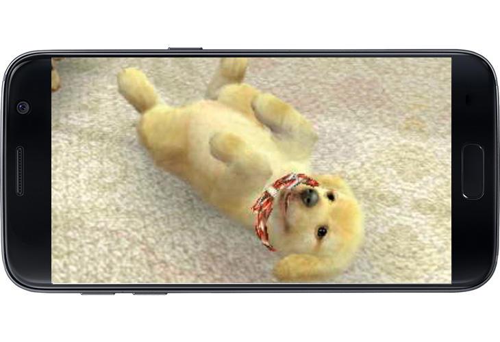 ¿Quién no quiere acariciar a este cachorrito en smartphones?