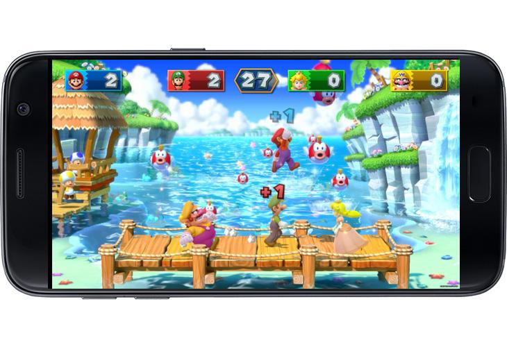 Las fiestas de 'Mario Party' encajan en formato móvil.