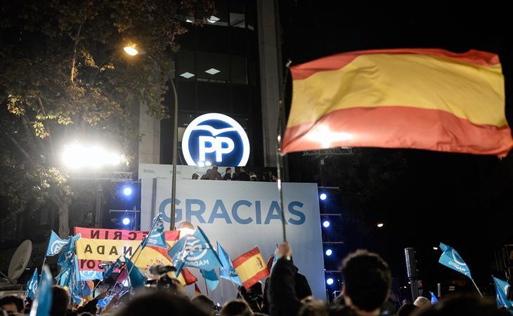 El Partido Popular está imputado como organización como partícipe a título lucrativo
