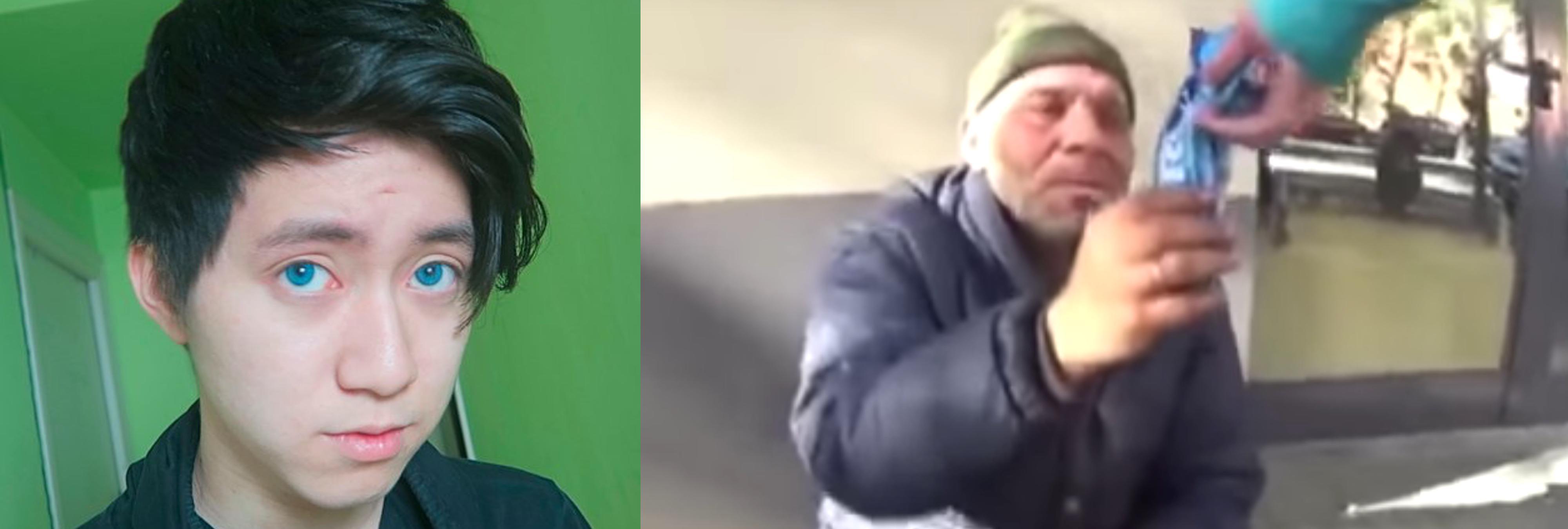 Imputan al youtuber que ofreció galletas con dentífrico a un indigente