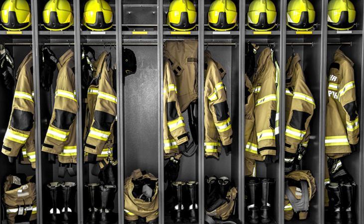 Los bomberos se llevan la palma de oro