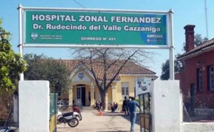Hospital donde ingresó la pequeña
