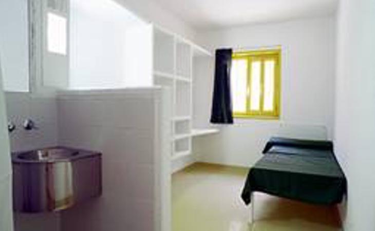 Módulo de aislamiento (Fuente: Instituciones penitenciarias)