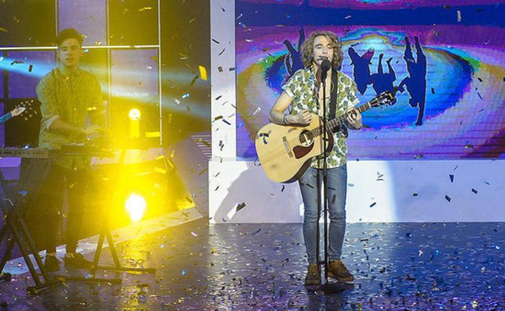 Manel Navarro, representante español en Eurovisión