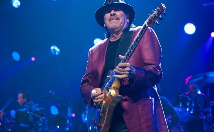 Carlos Santana cuenta con 10 Grammys
