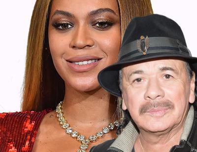 """Carlos Santana ataca a Beyoncé: """"No es una cantante, lo suyo es música para mostrar un vestido"""""""