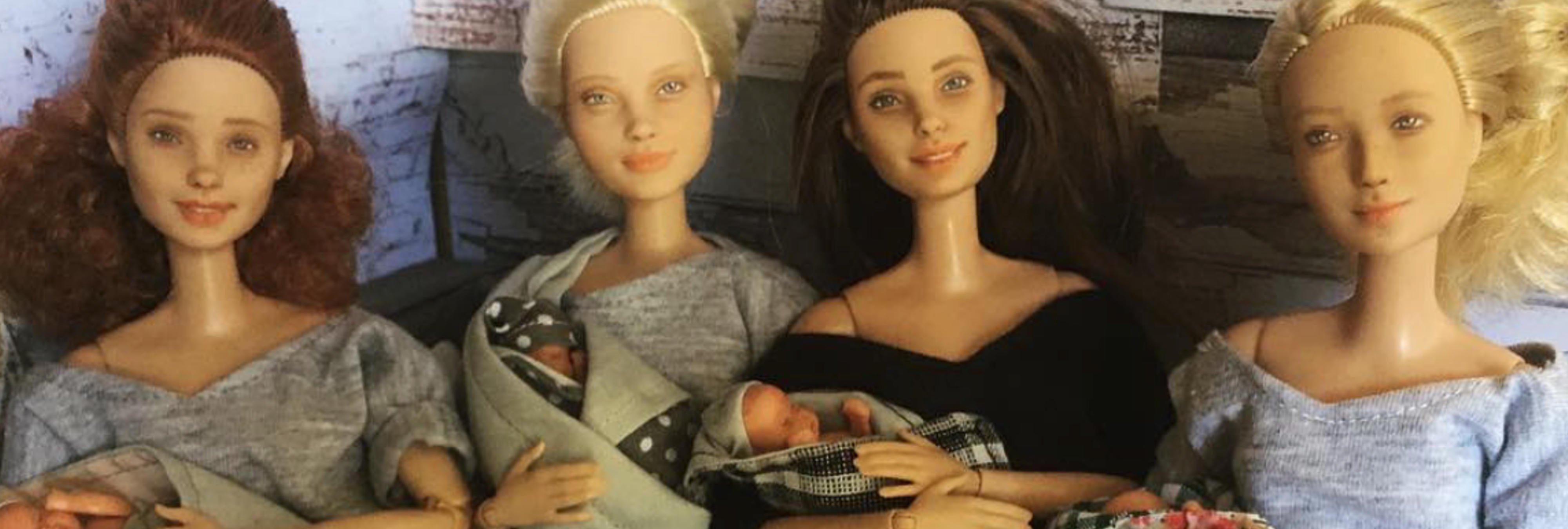 Una madre modifica Barbies para que representen a la mujer real y romper estereotipos