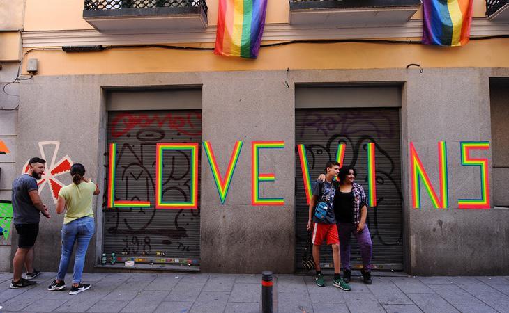 El Orgullo Gay Madrieño es un icono mundial