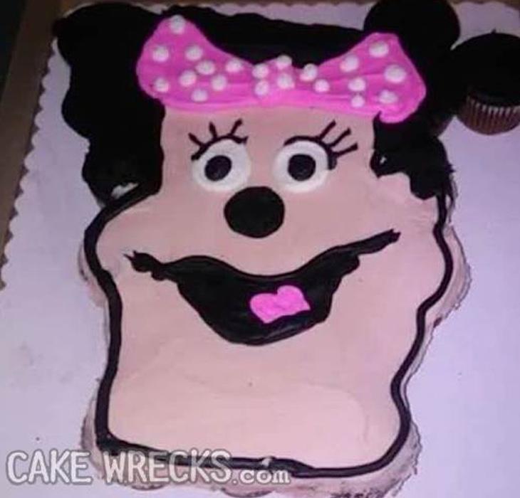 Minnie Mouse ha querido mimetizarse con Glenn Quagmire