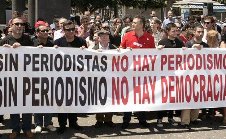 Reporteros sin Fronteras denunció la situación de TVE