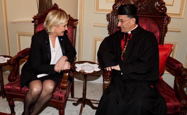 Marine le Pen mantuvo previamente un encuentro con el Gran Muftí de Egipto sin velo